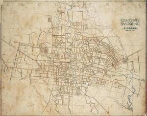 Peta Bandung 1928