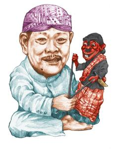 Kartun Asep Sunandar Sunarya jeung si Cepot
