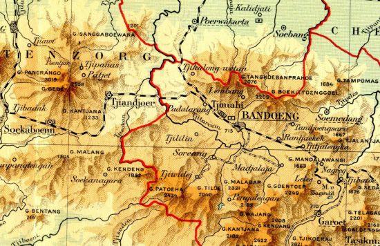 Peta Gunung Kendang